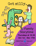 FAMILY STORY TIME ON FACEBOOK LIVE SERIES